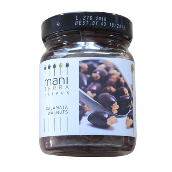 kalamata oliven mit walnuss